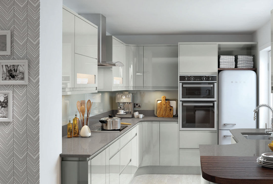 Roxburgh Silver Grey  One Stop Kitchens